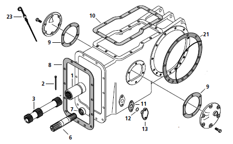 Massey Ferguson Power Steering Pump Diagram on massey ferguson power steering parts diagram