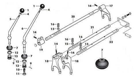 Massey Ferguson 165 Gearbox Parts