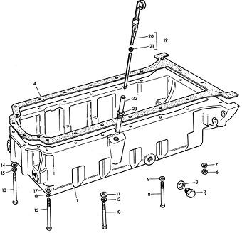 Ford 4000 Hydraulic Schematic
