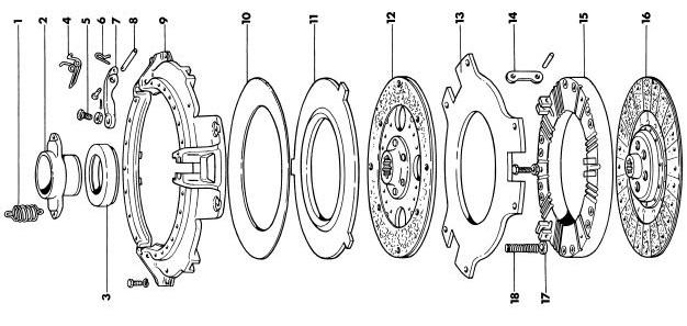 Massey Ferguson 35x Clutch Amp Pressure Plate