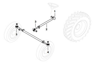 Ford 5000 Steering. Ford 5000 Tie Rod Ends. Ford. Ford 5000 Steering Column Diagram At Scoala.co