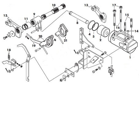 Massey Ferguson 265 Hydraulic Diagram