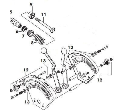 1692451 918h 18hp Hydro And 48 Mower Deck in addition M 3355 as well Rockford Clutch Parts Diagrams together with M 3390 moreover 1086 Ih Cab Heater Wiring Diagram. on massey ferguson 65 hydraulic diagram