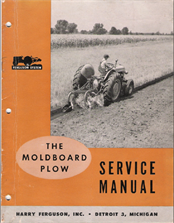 Ferguson mouldboard plough manual how to plough instructions.