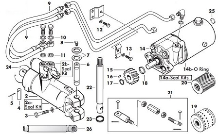 Ford Tractor Hydraulic Hose Repair on john deere 318 wiring diagram